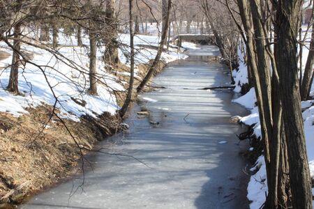 frozen creek: Visions of winter