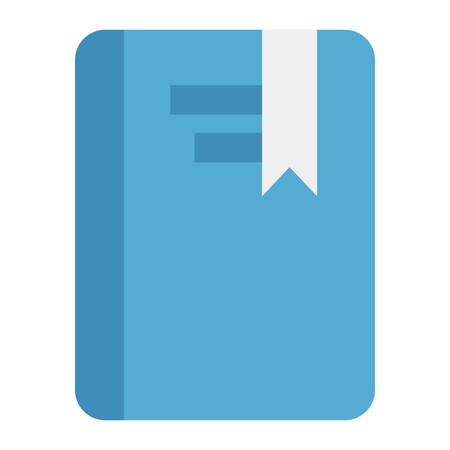 ereader: Book icon  on the white background. Vector illustration.