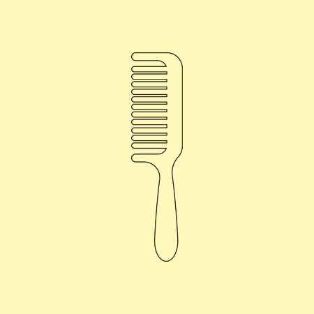comb hair: Comb vector, barber comb, salon comb, comb hair. Vector illustration Illustration