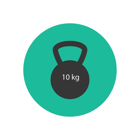 gym equipment: Weight icon. Vector illustration. Gym equipment. Sport icon. Fitness icon