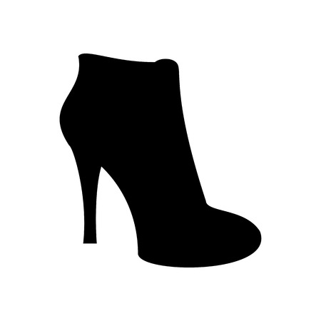 ankle: Ankle boots shoes. Shoes illustration. Boots icon. Vector illustration Illustration