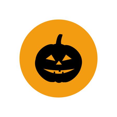 jack'o'lantern: Jack-o-lantern pumpkin halloween . Vector illustration Illustration