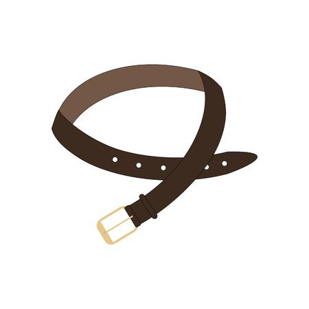 Belt on the white background. Vector llustration