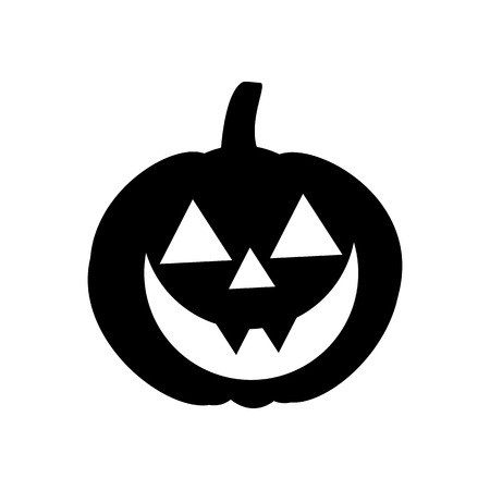 Jack-o-lantern pumpkin illustration