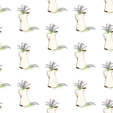 Rusty jug seamless pattern Banque d'images - 101212198
