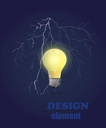 light bulbs: The design of the composition of light bulbs