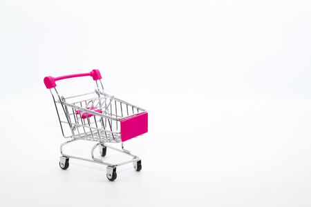 trolley isolated and white background