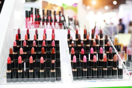 colorful lipstick set Фото со стока