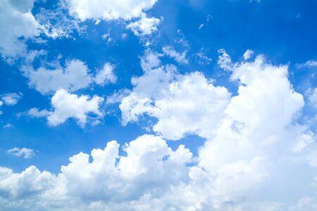 blue sky with cloud Stockfoto