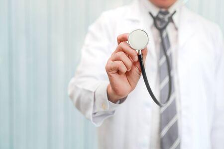 portrait de médecin asiatique
