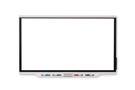 Interactive Whiteboard‎ isolated and white background