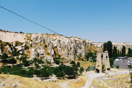 Goreme national park, Goreme open air museum in Turkey