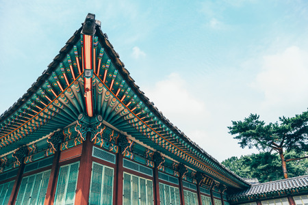 Changdeokgung Palace, Korean traditional architecture
