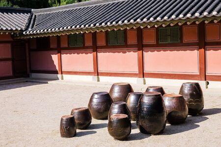 Jangdokdae, Jars and Korean traditional architecture in Korea