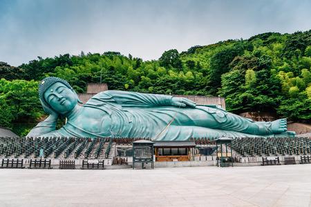 Bronze buddha statue in Nanzo-in Temple, Fukuoka, Japan
