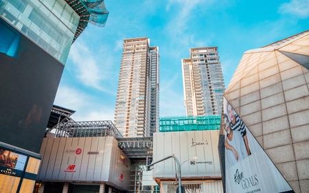 Kuala Lumpur, Malaysia - January 7, 2018 : Pavilion KL famous shopping mall