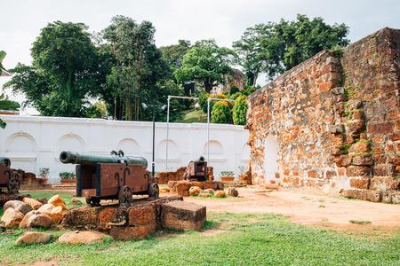 A Famosa Fortress in Malacca, Malaysia