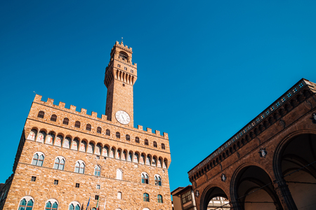 Palazzo Vecchio in Florence, Italy