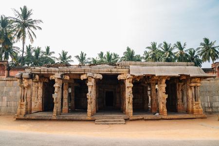 Chandikeshvar Temple, Ancient ruins in Hampi, India Archivio Fotografico