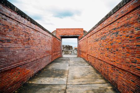 Cijin island Cihou Fort in Kaohsiung, Taiwan Banque d'images - 103910244