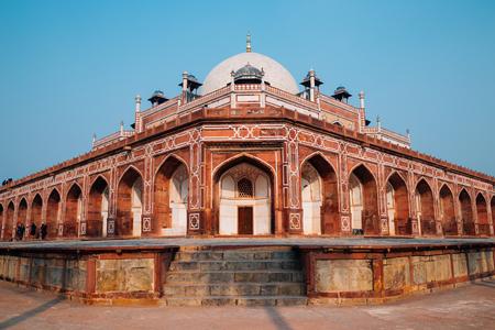 Humayun's Tomb ancient ruins in Delhi, India