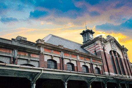 Old Taichung railway station in Taiwan 写真素材