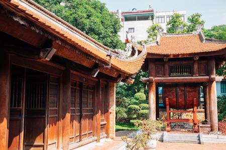 Temple of literature in Hanoi, Vietnam