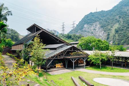 Jiji line Checheng old town in Nantou, Taiwan