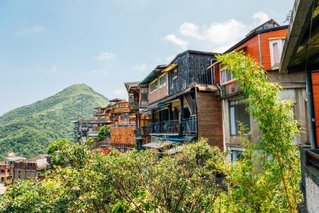 Jiufen old town in Taiwan