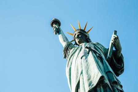Odaiba Statue of Liberty in Tokyo, Japan