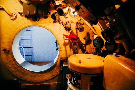 Vladivostok, Russia - September 17, 2018 : Memorial Submarine S-56 Museum