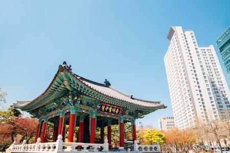Daegu, Korea - April 2, 2019 : Gukchae-bosang Memorial Park 報道画像