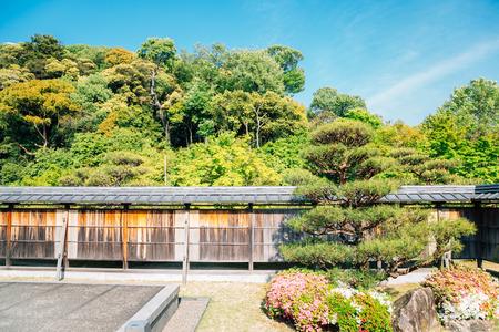 Matsuyama Castle Ninomaru Historical Site Garden at spring in Matsuyama, Shikoku, Japan