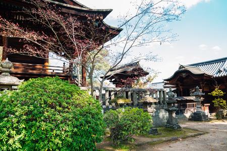 Kurashiki Achi Shrine in Okayama, Japan