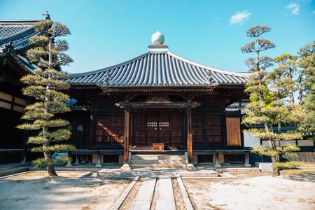 Kurashiki Kanryuji temple in Okayama, Japan 報道画像