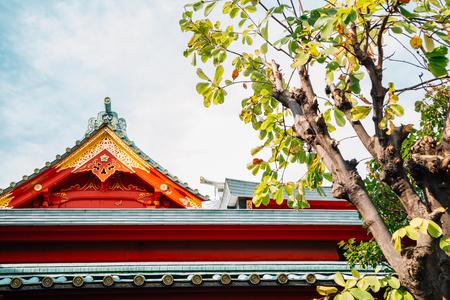 Kanda Shrine traditional architecture in Tokyo, Japan 写真素材