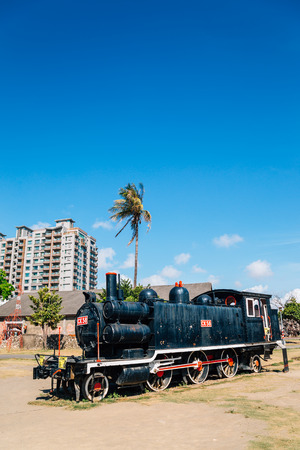 Kaohsiung, Taiwan - May 6, 2018 : Hamasen Railway Cultural Park