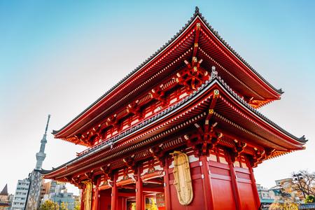 Asakusa Sensoji temple Hozomon gate in Tokyo, Japan