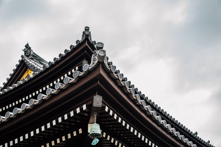 Hasedera temple traditional architecture in Kamakura, Japan 写真素材