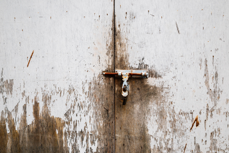 Old scratched wooden door background Stok Fotoğraf