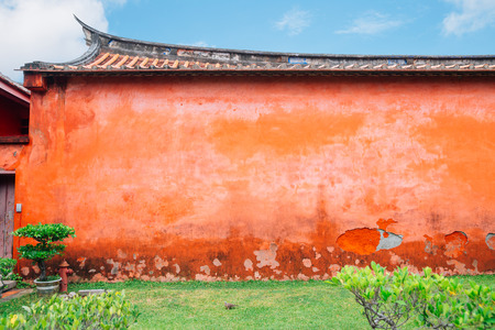 Chinese traditional wall detail background