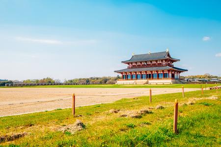 Heijo palace Imperial palace in Nara, Japan
