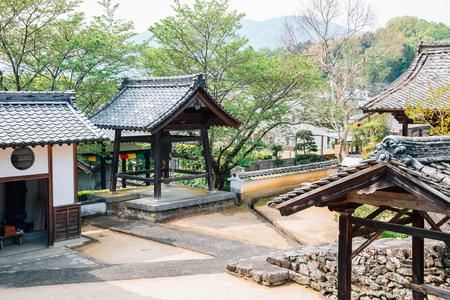 Kosho-ji temple at Uchiko town in Ehime, Shikoku, Japan
