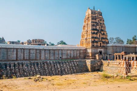 Sri Virupaksha temple in Hampi, India 写真素材
