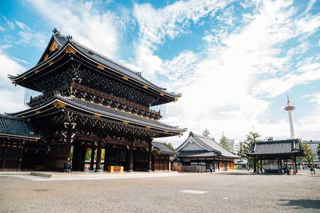 Higashi Honganji Temple in Kyoto, Japan 報道画像