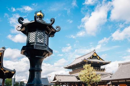 Higashi Honganji Temple in Kyoto, Japan Redactioneel