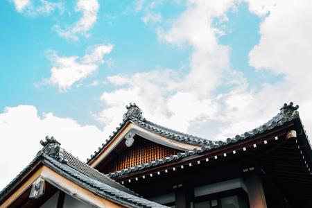 Koshoji Temple traditional architecture in Kyoto, Japan 写真素材
