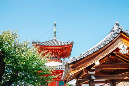 Choen-ji Temple at Amagasaki Teramachi street in Hyogo, Japan