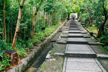 Nene No Michi historic stairs at Higashiyama in Kyoto, Japan Stok Fotoğraf