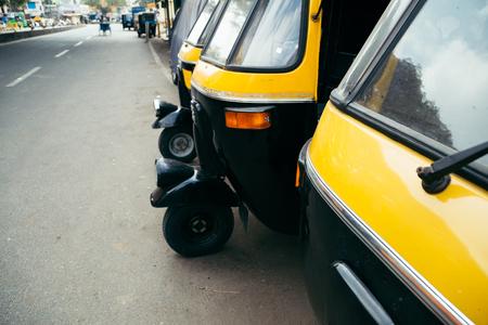 Auto rickshaw in Bangalore, India
